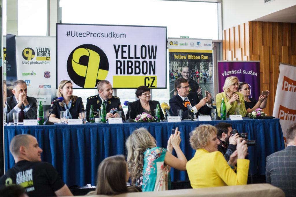 Tisková konference Yellow Ribbon Run